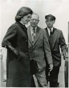 First Lady Jacqueline Kennedy and Henry Francis du Pont