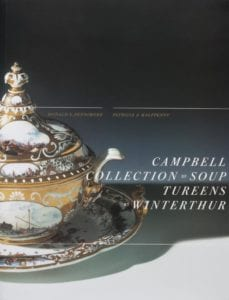 cover to Campbell Collection of Soup Tureens at Winterthur