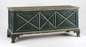 wooden chest