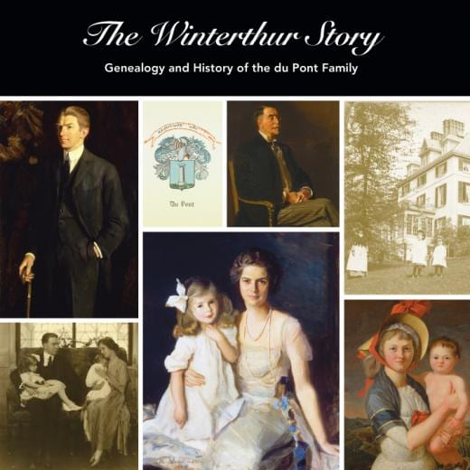 du pont book cover - The Winterthur Story