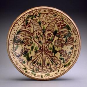 earthenware dish