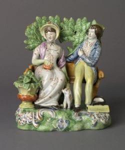 pearlware figurine - Perswation