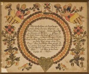 baptismal certificate