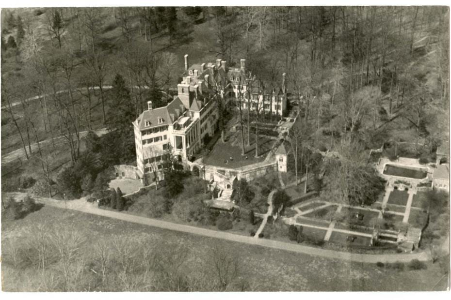 Historic view of Winterthur