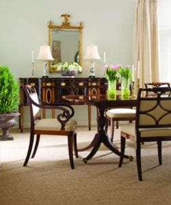 dining room set settee mirror store
