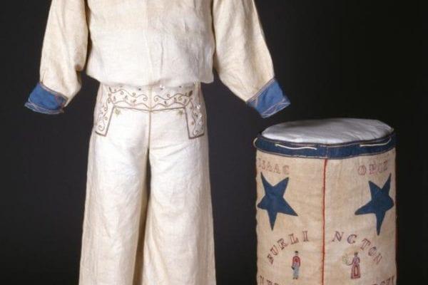 Summer uniform of an enlisted sailor, worn by Warren Opie