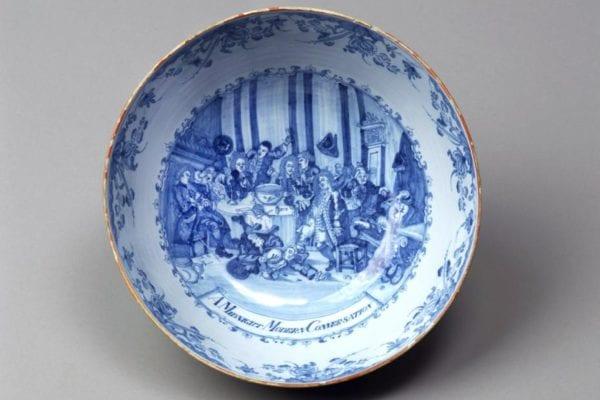 Punch bowl; A Midnight Modern Conversation;