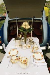 ptp tailgate dining arrangement