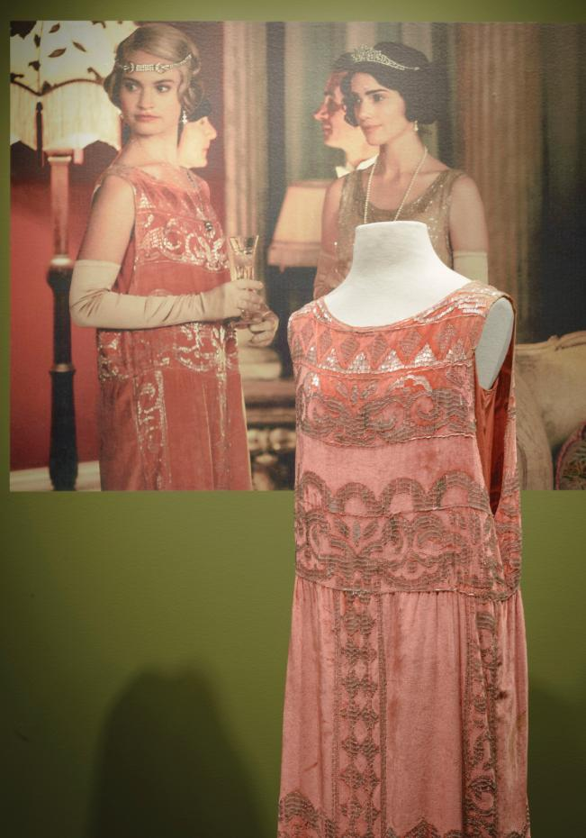 Downton Abbey Dress And Tv Projection