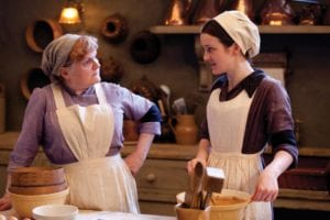 downton abbey cooks