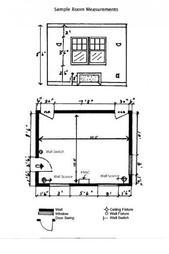 Astounding How To Measure And Draw A Floorplan Winterthur Museum Home Interior And Landscaping Mentranervesignezvosmurscom