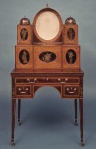Ladies writing desk, ca.1795-1810. Museum purchase 1957.0068