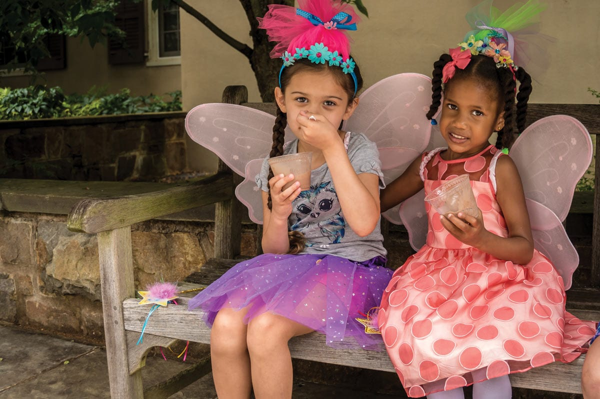 Two young fairies at Enchanted Summer Day.