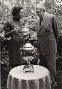 DAS First Chairperson Arminda du Pont and H. F. du Pont