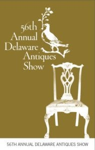 Brochure cover image for 2019 Delaware Antiques Show