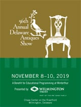 56th Annual Delaware Antiques Show brochure